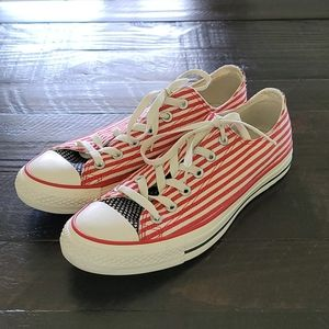 CONVERSE CHUCK TAYLOR Low Sneakers American Flag 8